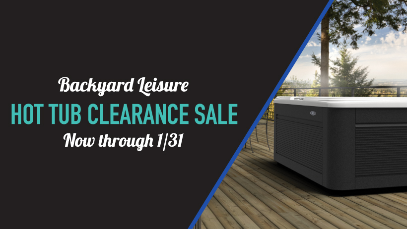January Hot Tub Clearance Sale!