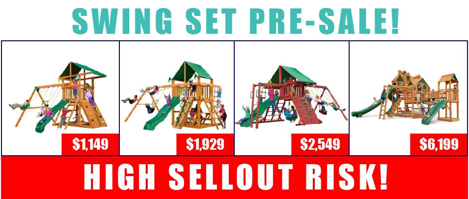 Swing Set Pre-Sale!