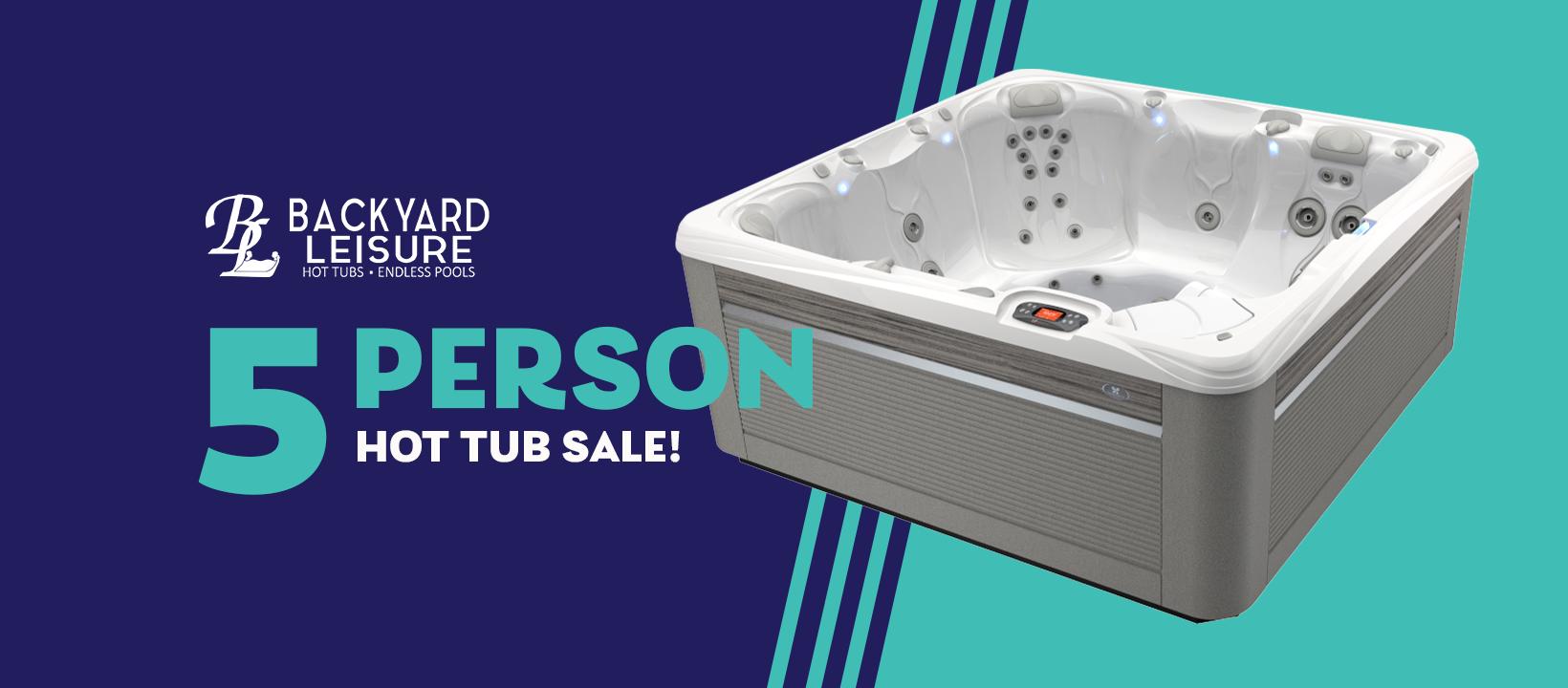 5 Person Hot Tub Sale!