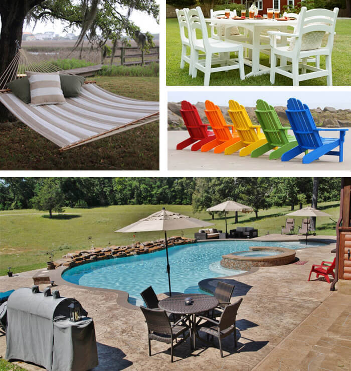 Patio Furniture from Backyard Oasis