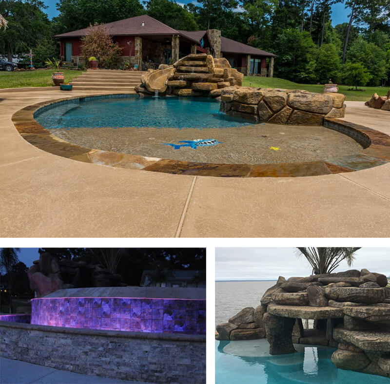 Renovation services at Backyard Oasis