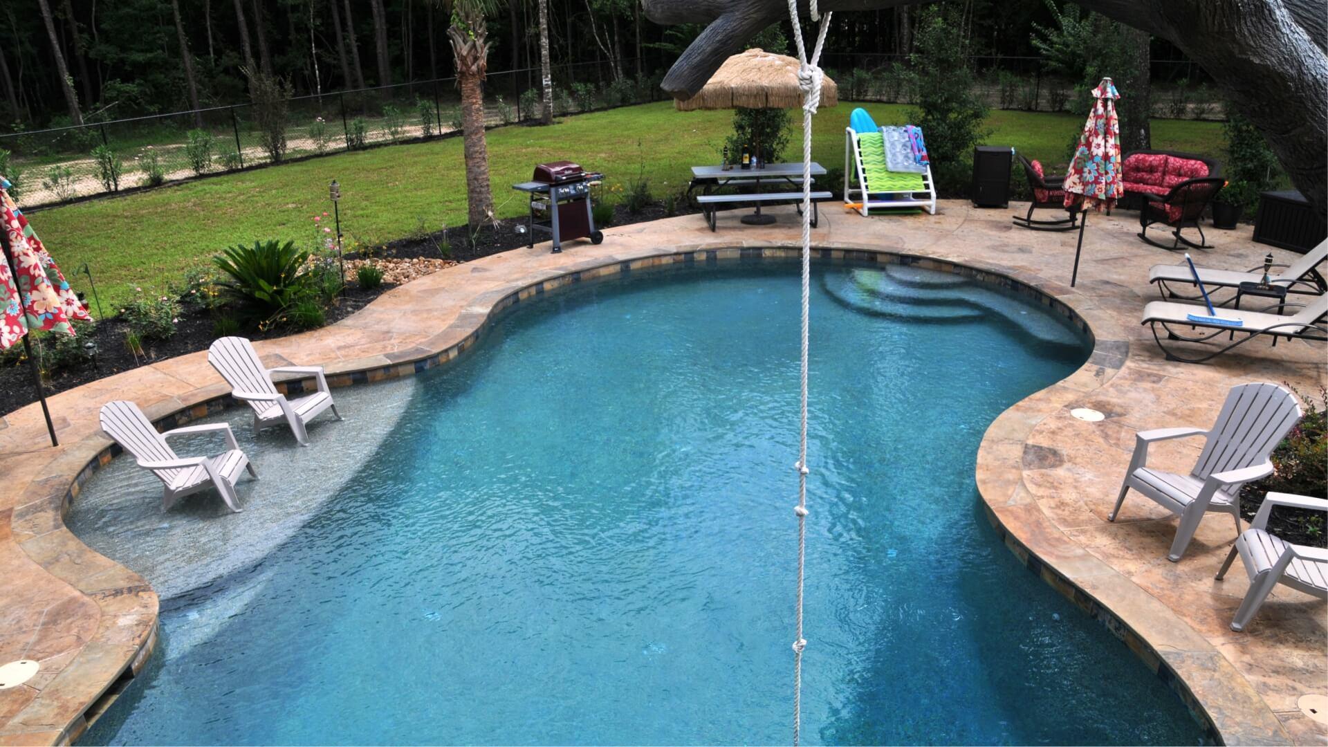 Inground Pool Gallery - Backyard Oasis