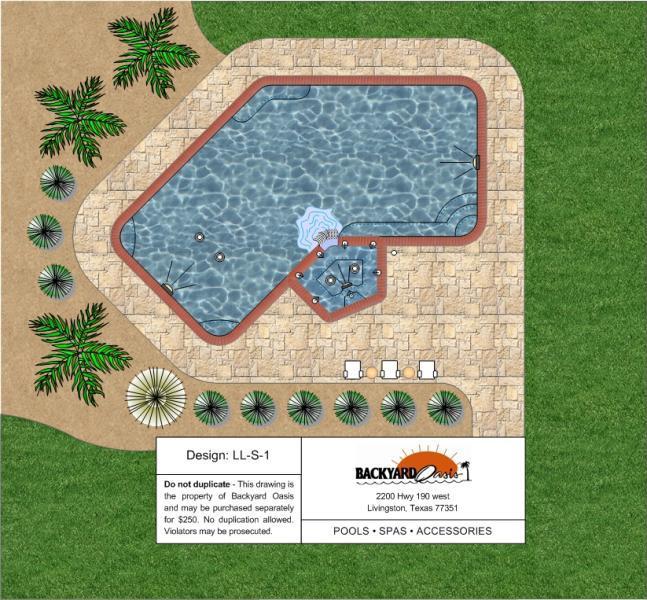 Inground Pools Backyard Oasis Livingston Tx