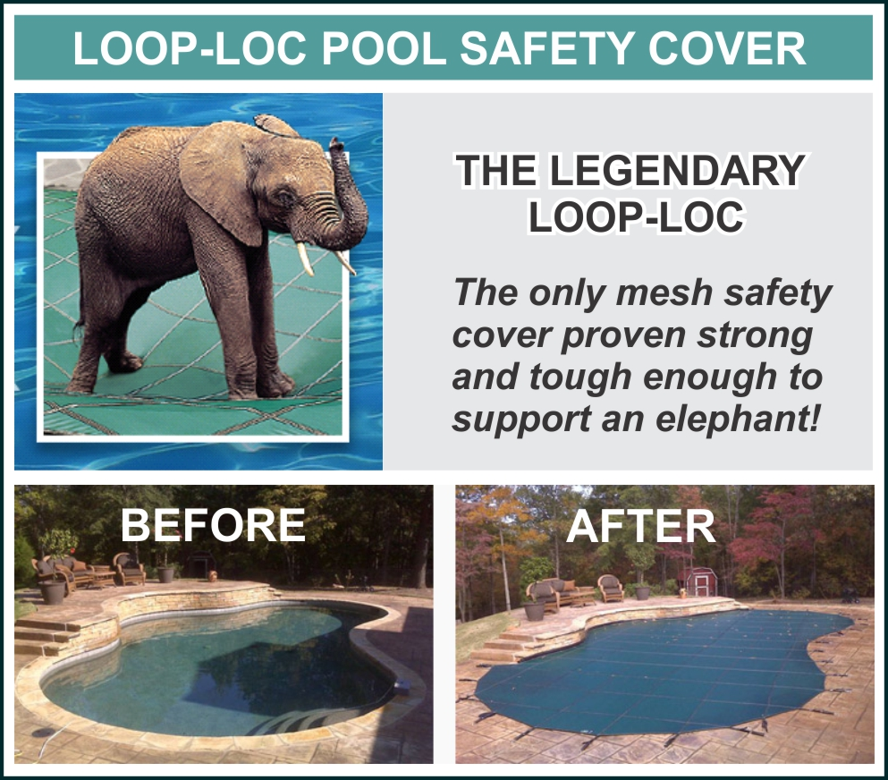 Loop-Loc Pool Safety Cover