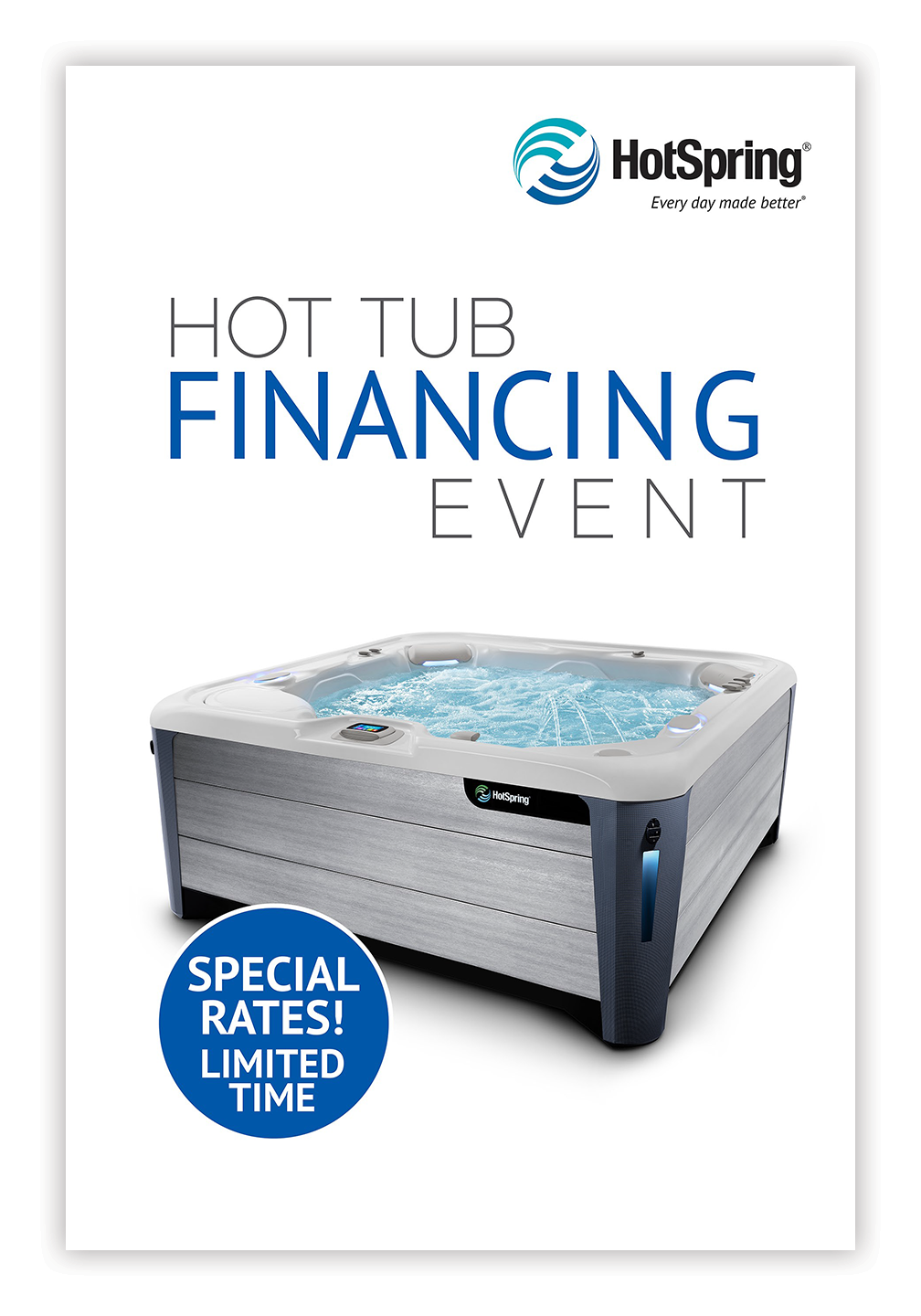 Hot Spring® Financing Event