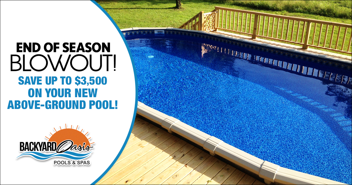 Above Ground Pool Clearance Sale