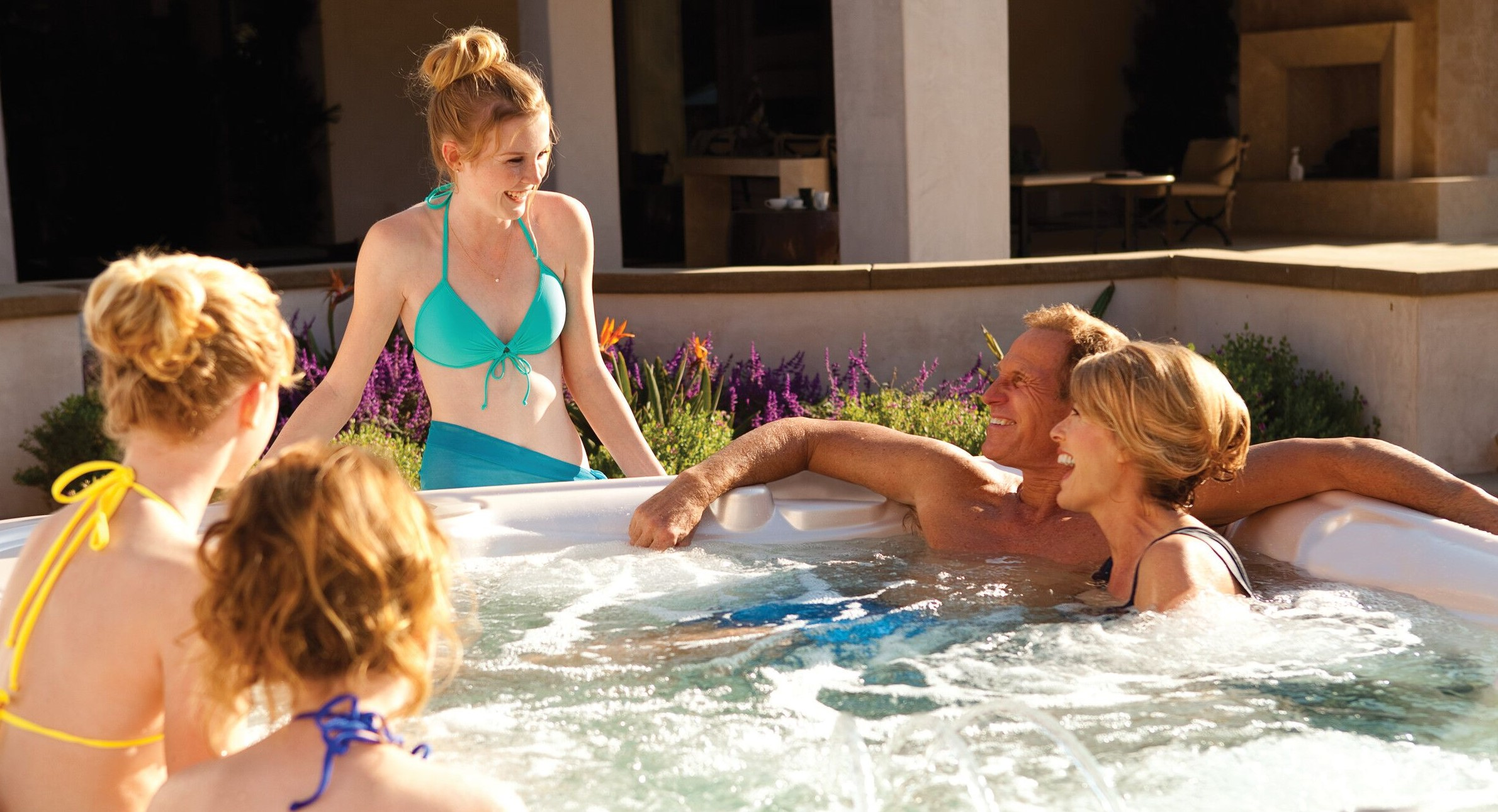 Owning a Hot Tub May Decrease Your Water Usage