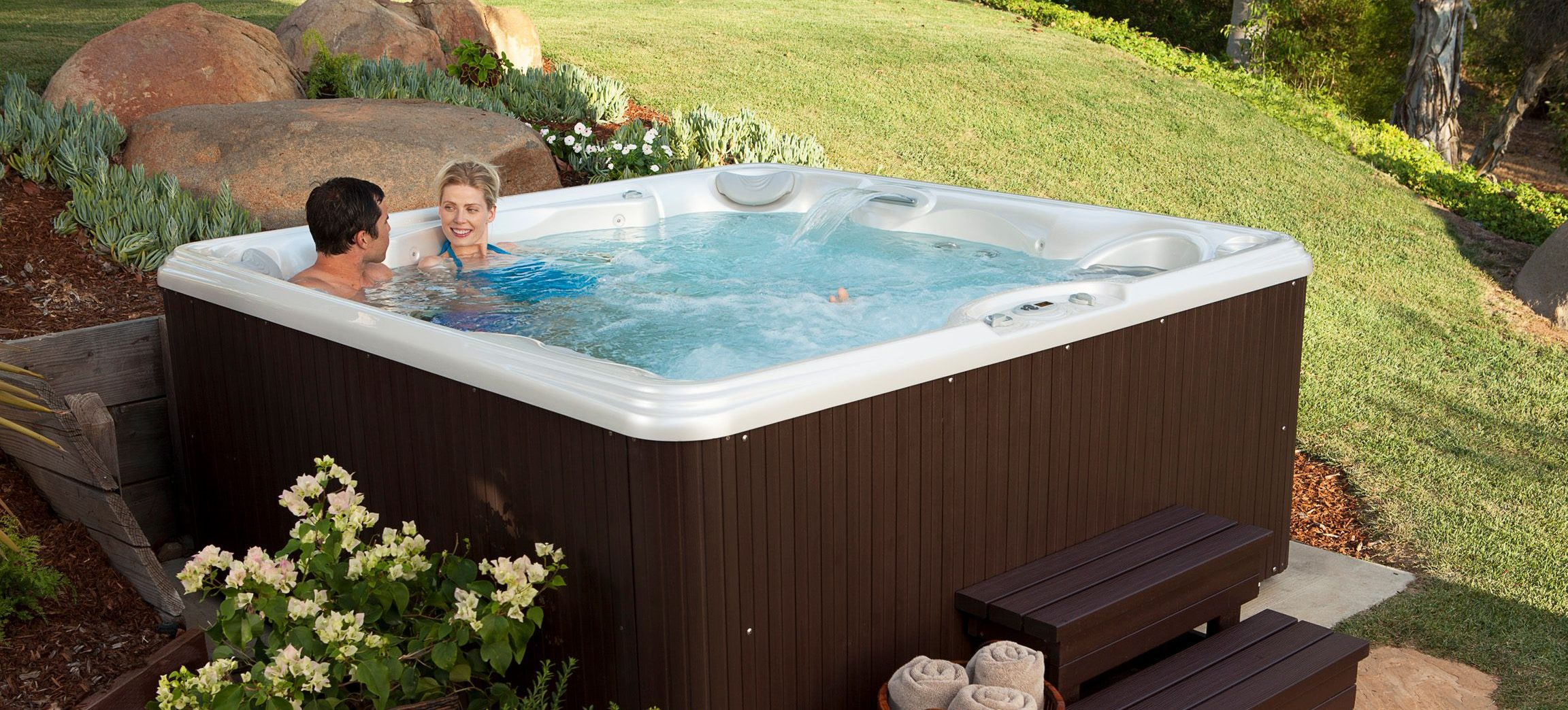 In the Mood to Save? New Vs. Used Hot Tubs