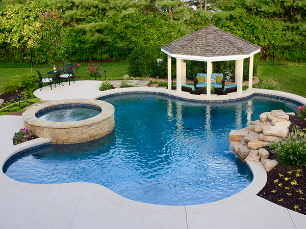 Pool Construction & Services Family Image