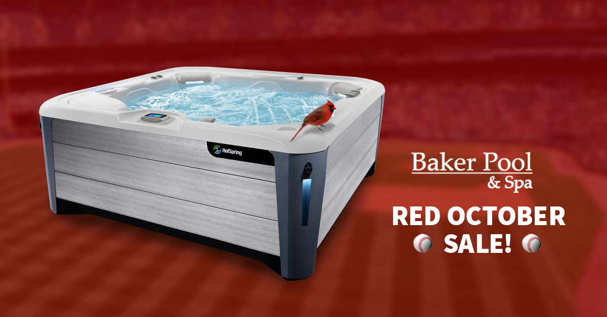⚾️ Don't Miss the Red October Hot Tub Sale!