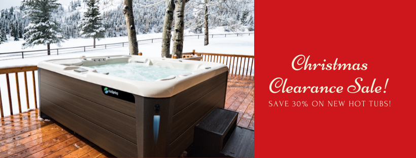 🎄 Shop the Hot Tub Christmas Clearance Sale at Baker Pool & Spa!