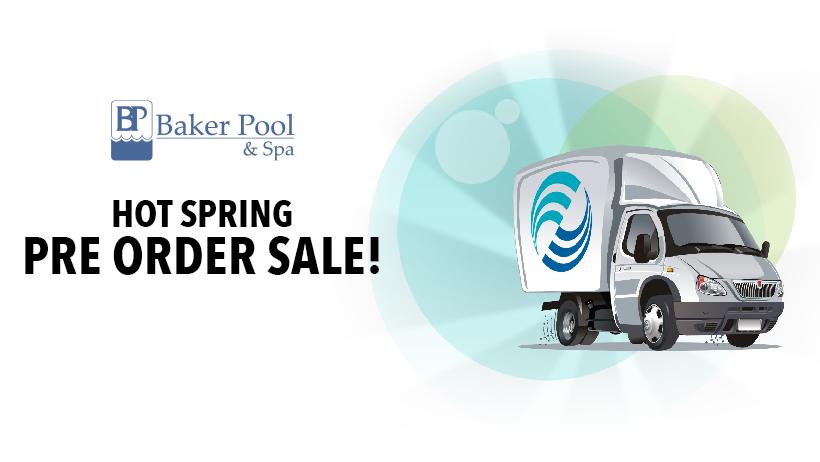 Hot Spring Pre Order Sale!