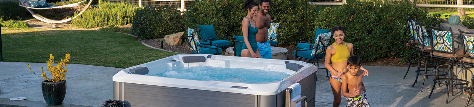 End Sleepless Nights by Relaxing in the Family Spa, Large Hot Tubs Chesterfield