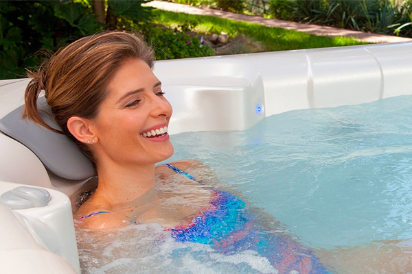 Hot Spring Spas Water Care Family Image