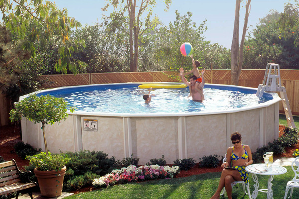 Lomart Above Ground Pools Family Image