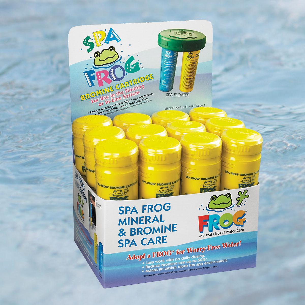 Spa Frog Bromine Cartridge 12 Pack Hot Tubs Iowa City