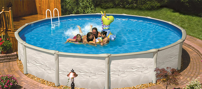 Garden Leisure Pools Family Image
