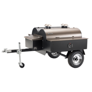 Traeger Double Commercial Wood Pellet Grill Trailer - Bronze