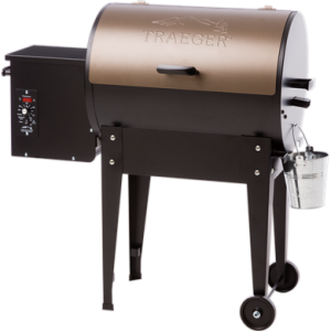 Traeger Junior Elite 20 Wood Pellet Grill - Bronze