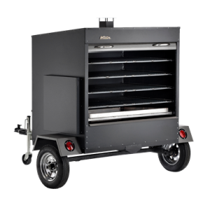 Traeger Large Commercial Wood Pellet Grill Trailer - Black