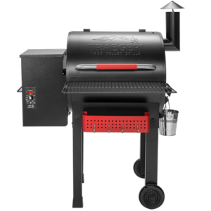 Traeger Renegade Elite 20 Wood Pellet Grill - Black with red detailing