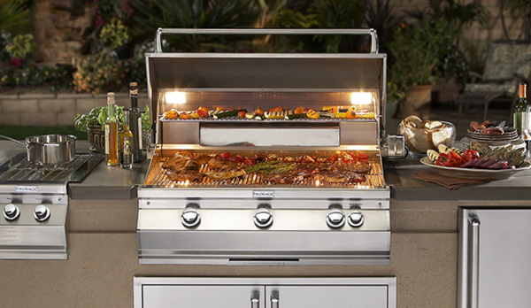 Aurora Built-in Grills Family Image