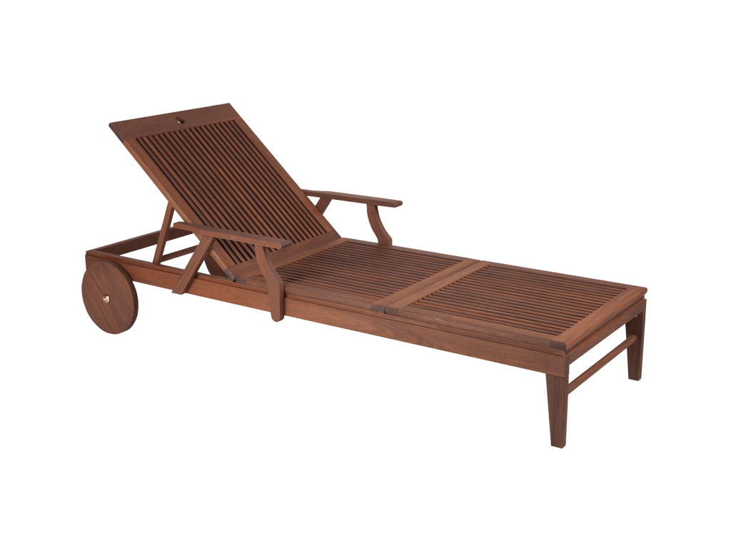 Opal Chaise Lounge isolated
