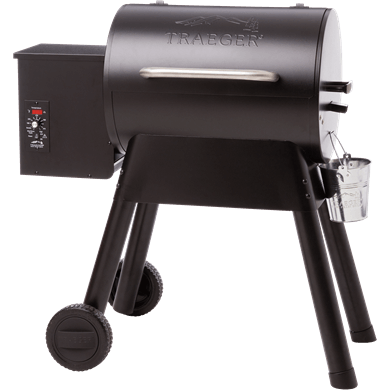 Front view of the Bronson 20 pellet grill