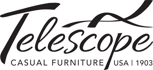 Telescope Black & White Logo