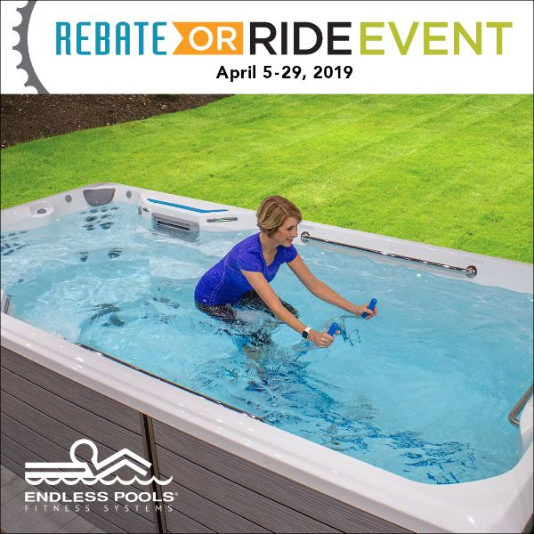 Endless Pools Ride or Rebate Event