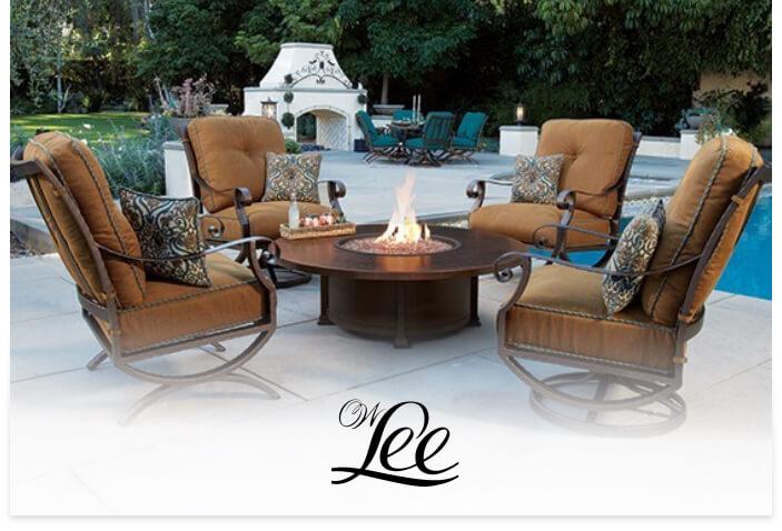 O.W. Lee's logo on a lifestyle image