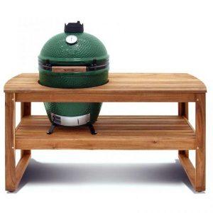 Big Green Egg Acacia Hardwood Table