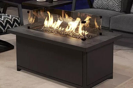 O.W. Lee's Ocassional fire table