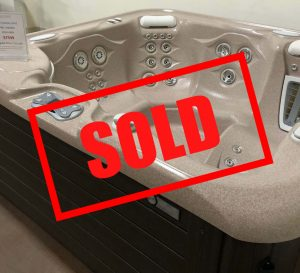 Aria with sold sign