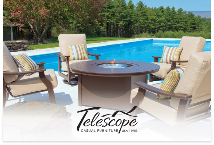 Telescope's logo on a lifestyle image