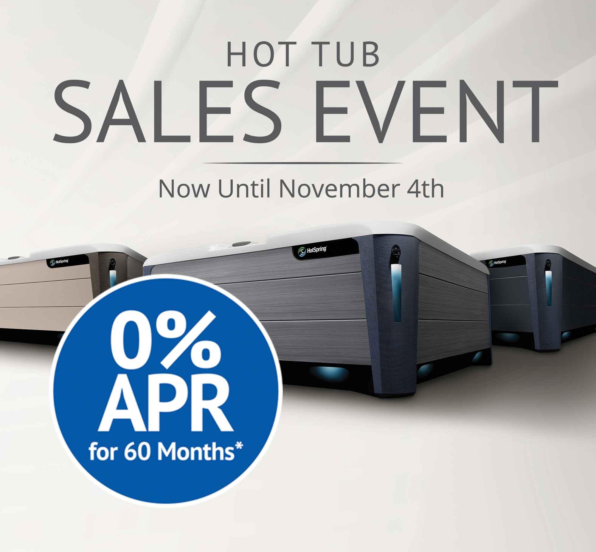 Hot Tub Sales Event