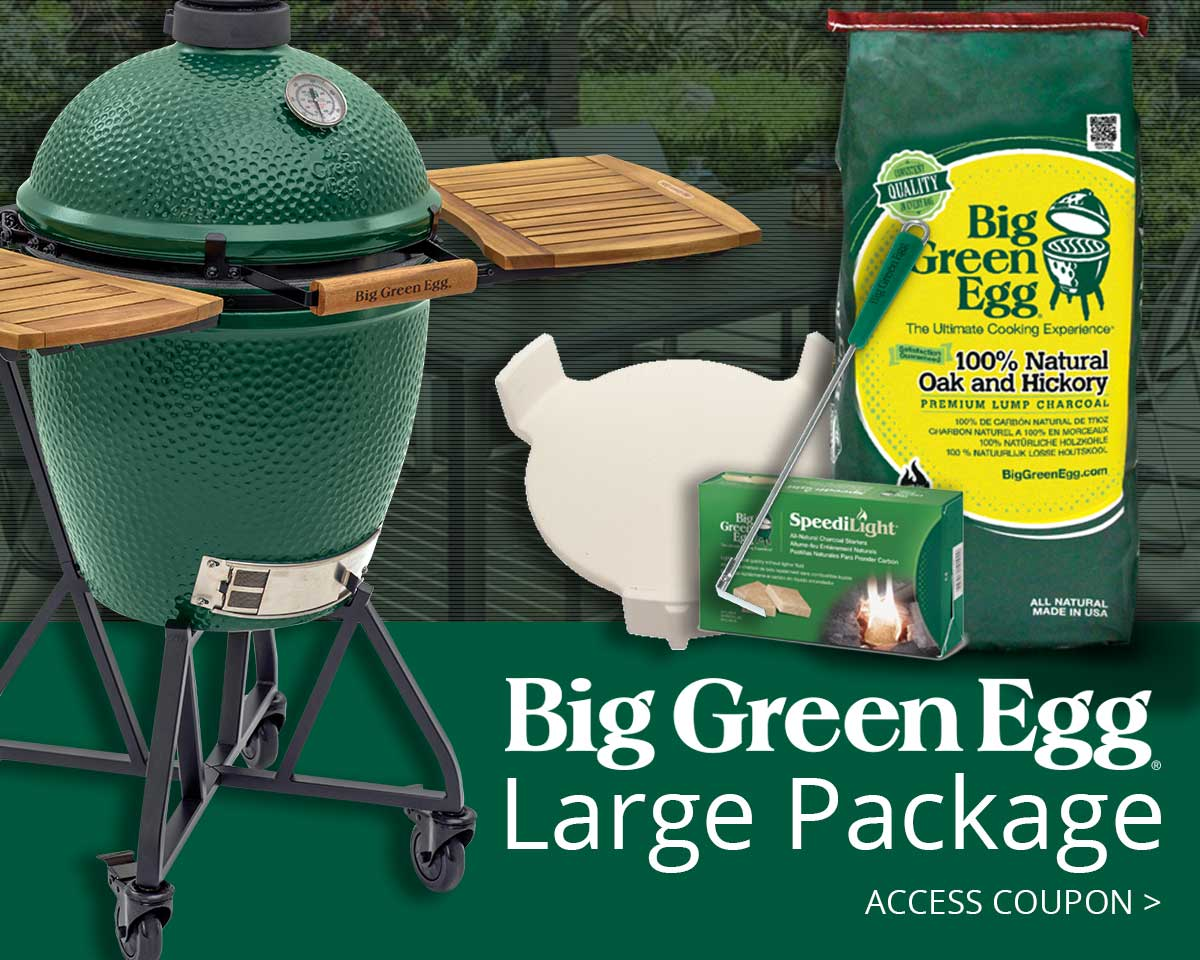 Big Green Egg Package