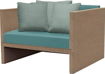 Brown Jordan patio furniture chair