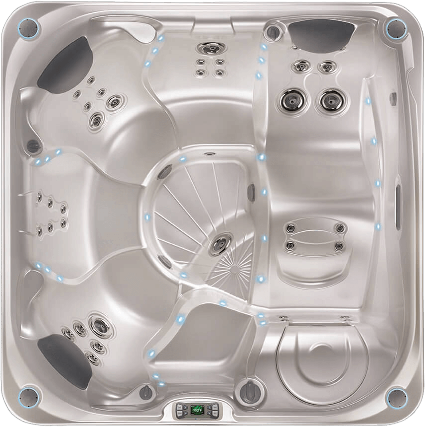 hs-limelight-flair-pearl-overhead - Capital Hot Tubs