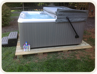 Hot Tub Bases Visual List Item Image