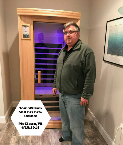 best price sauna in home McClean, VA