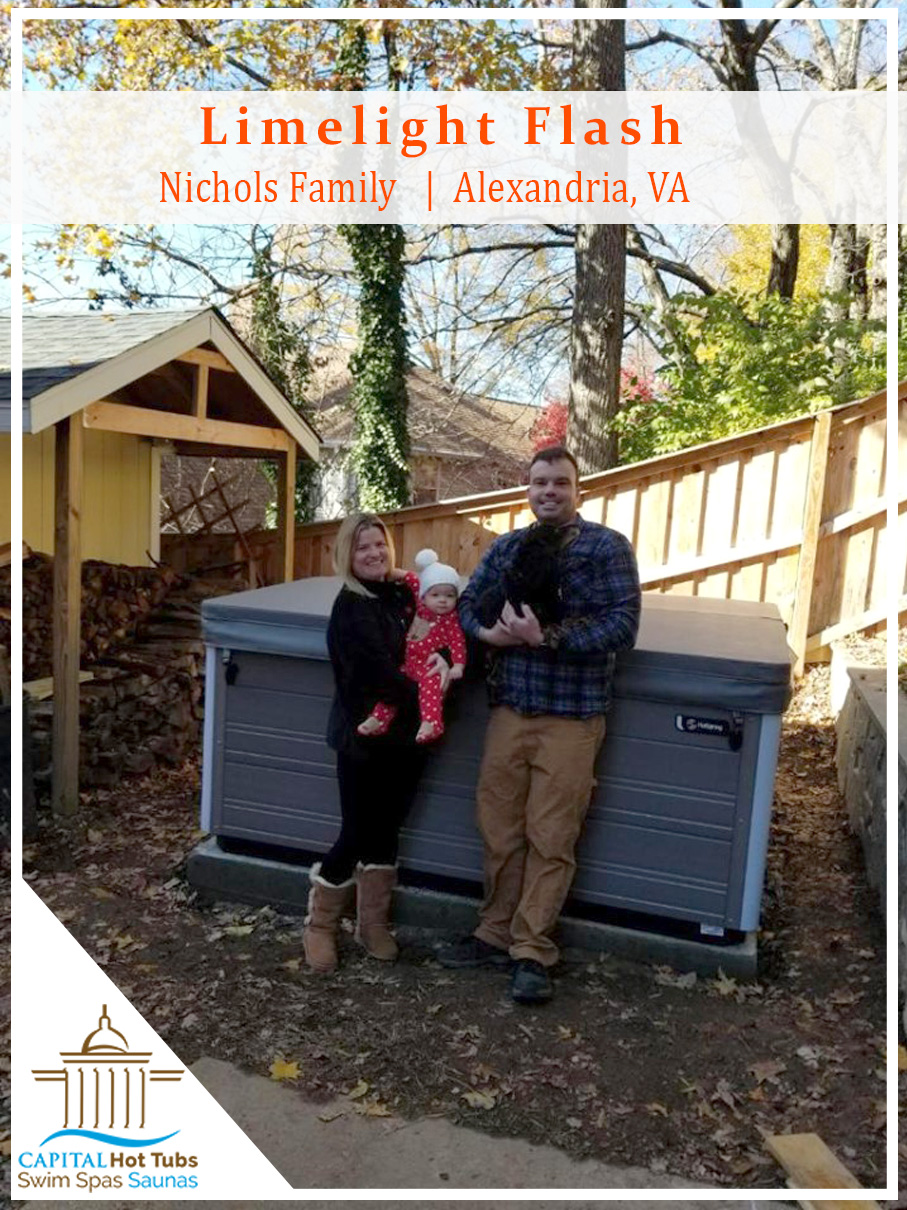 family hot tub Alexandria virginia