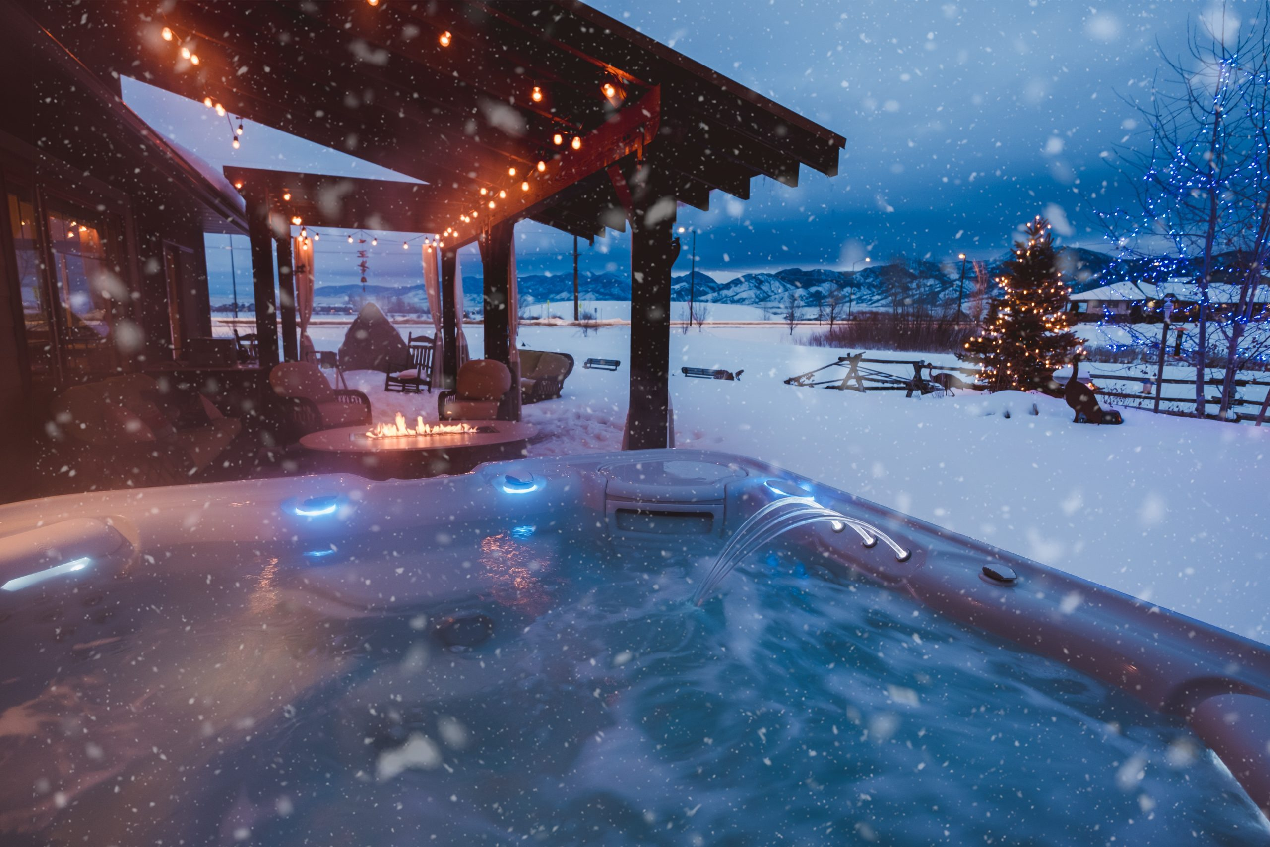 HEALTH BENEFITS OF USING A HOT TUB IN WINTER