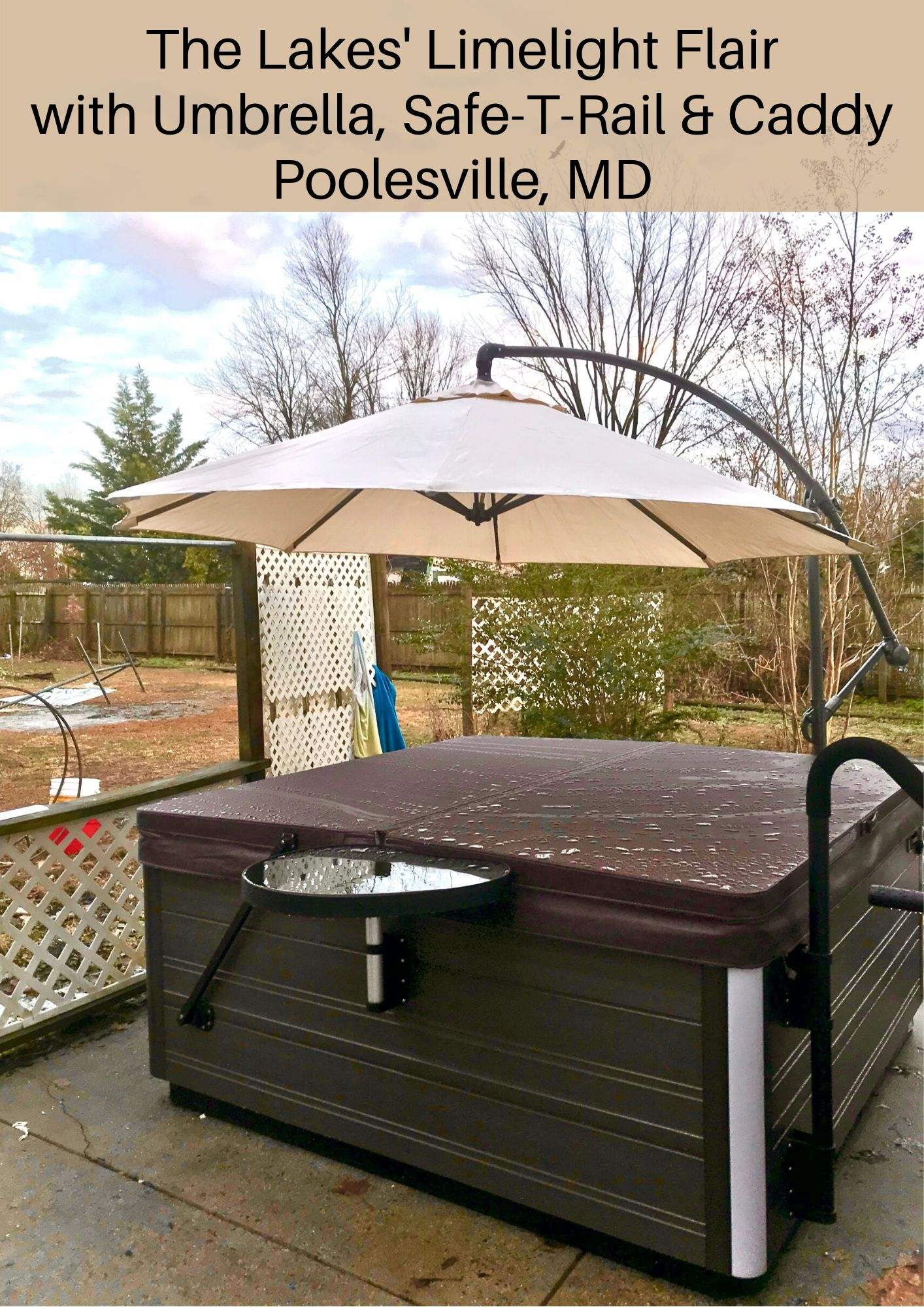 Spa Umbrella, Poolesville, MD