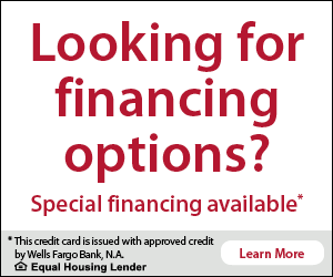 Financing at Chesapeake Spas by Wells Fargo