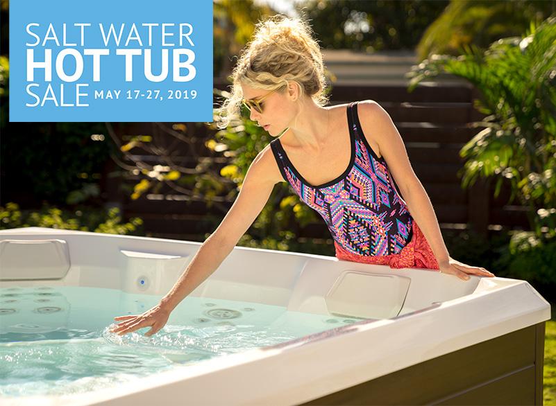 Salt Water Hot Tub Sale