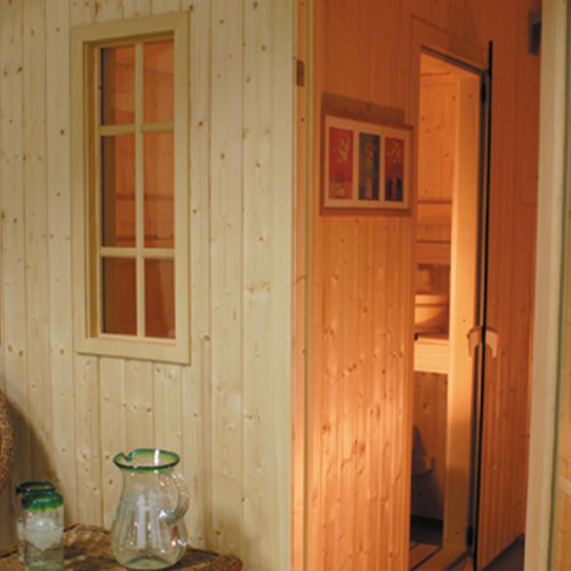 Finnleo Traditional Outdoor Saunas Metro Series Coastal