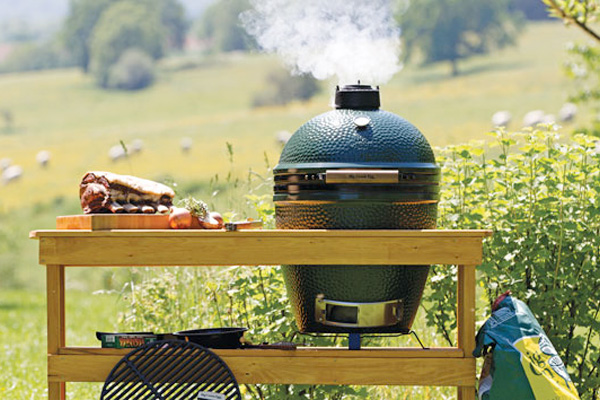 Big Green Egg Grills Family Image