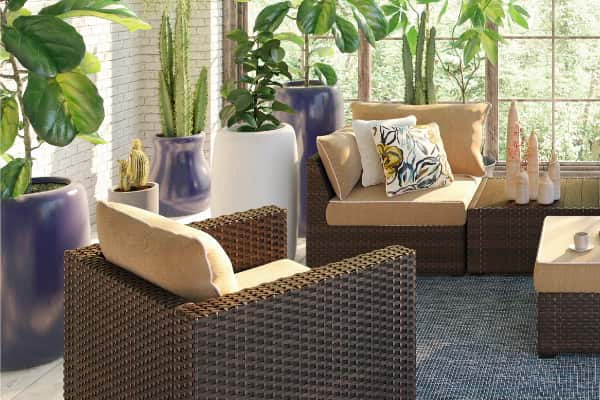 Ashley Signature Patio Furniture Family Image