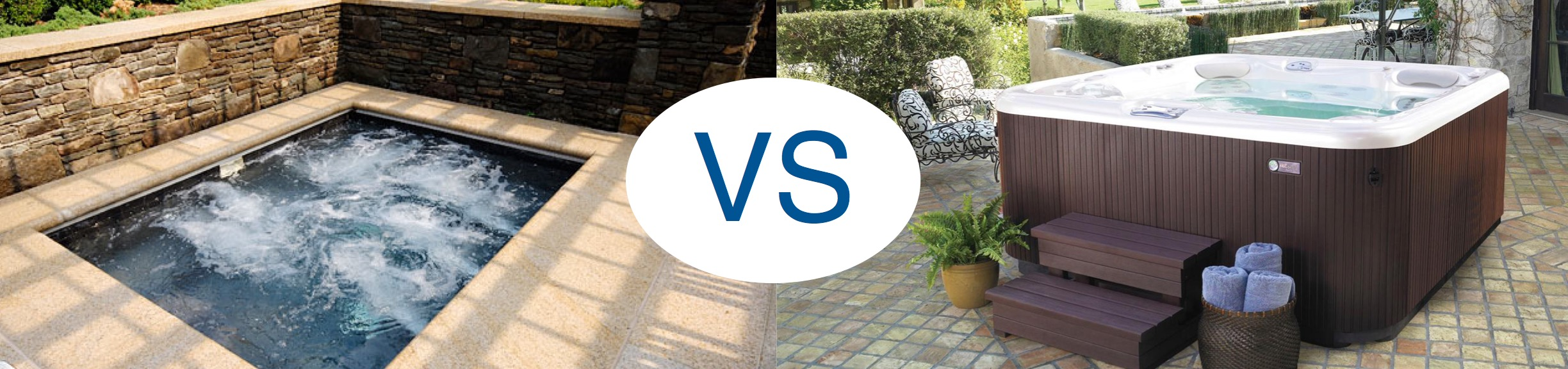 In-Ground Spa vs. Above-Ground Hot Tub